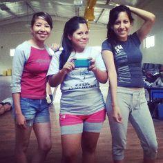 Cheerleading training
