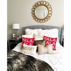 alyson_haley's Christmas bedding 2015 | LIKEtoKNOWit