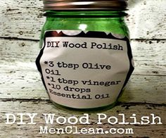 Clean and make your wood floor shine without using harsh chemicals. Check out this super easy to make DIY Wood Floor Polish Recipe.
