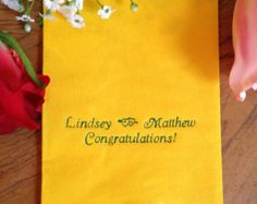 150 Personalized Hand Guest Towels Paper Dinner Napkins Wedding Favors Hostess Gift Party Engagement Monogram Birthday Bar Bat Mitzvah
