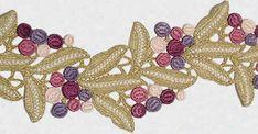 Lace Galloon /Trim: Zundt Design, Ltd.