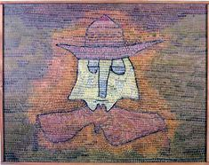 Paul Klee 'Paster Kohl' 1932 Oil painting on canvas/paper 65 x 50 cm