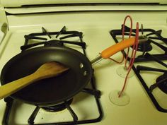 How To Make An Assistive Pan Holder For One Hand Use For Under $2.