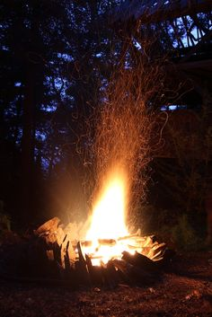 campfire, my favorite smell in the whole world!