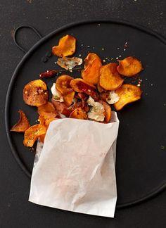 Süßkartoffel-Chips mit Limettensalz Rezept - [ESSEN UND TRINKEN]