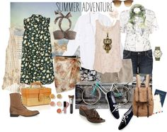 """""""Summer Adventure"""" by constance1964 on Polyvore"""