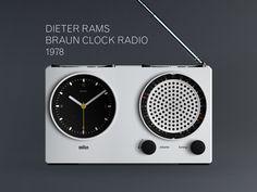 Dieter Rams Braun Clock 1978