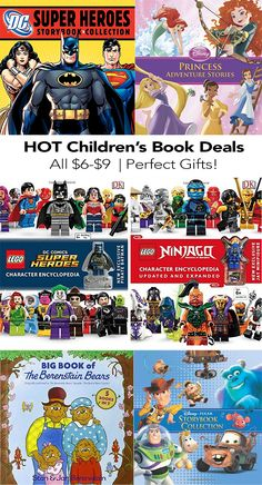 Children's book deals - perfect gifts for kids.