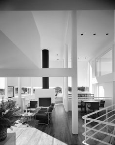 Saltzman House (1969), Richard Meier