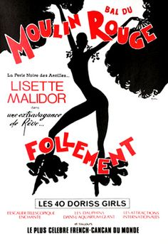 Moulin Rouge.  I sat in the front row and had pink feathers floating down on me and my 95-year-old Mother!
