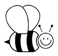 animal bee coloring pages