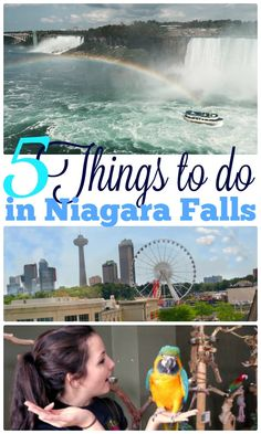 Things to do in Niagara Falls, Ontario, Canada with kids. Best destinations for…