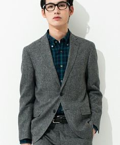 ディーテールにこだわり。United Arrows Green Label Relaxing ジャケット/ Tweed jacket on ShopStyle