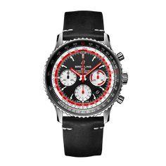 Worldwide Watches Magazine Breitling Superocean Heritage, Breitling Navitimer, Breitling Watches, Mesh Bracelet, Bracelets, Stainless Steel Mesh, Chronograph, Sapphire, Black Leather