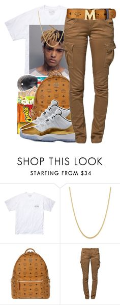"""""""XXXTENTACION"""" by maiyaxbabyyy ❤ liked on Polyvore featuring Southern Proper, MCM and G-Star Raw"""