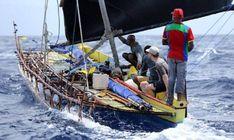 14484625_642519822588453_5407492900058423669_n.jpg (745×445) 9m canoe built Basilaki Island. Thor F Jensen (Denmark) plans to circumnavigate New Guinea. 6,500 km in 2016/17