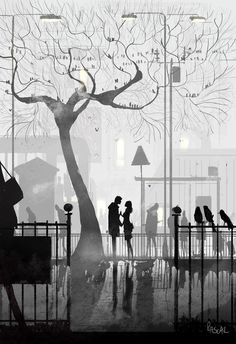 It's sometimes hard to see that Spring is coming back. But it is. #pascalcampion