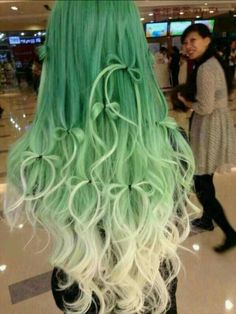 Aww adorable hair style and so pretty colour