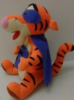 "Disney Winnie The Pooh Tigger Soft Plush 12"" Stuffed Animal Toy Figure Matel Day"