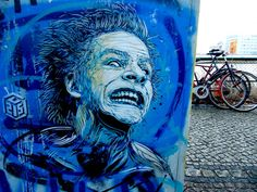 Stencil works by French artist Christian Guémy aka C215 seen on the streets of Barcelona and Berlin.