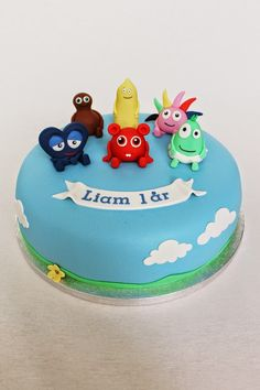 Rebeccas tårtor: Babblarna - favorit i repris! Food N, Party, Birthday Parties, Birthday Cakes, Cake Decorating, Deserts, Birthdays, Cooking Recipes, Sweets
