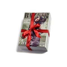 Bazaar's Fashion Gift Guide :: Harper's BAZAAR ❤ liked on Polyvore featuring books, fillers, backgrounds, magazine and decor