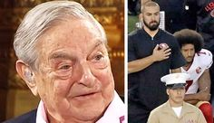The NFL players' union has teamed up with leftist billionaire George Soros to finance anti-American liberal protests.