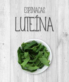 La luteína es un pigmento que pertenece al grupo de los carotenoides, que son un tipo de flavonoides. La función de la luteína en las plantas es protegerlas contra la acción solar. Esta misma propiedad resulta de ayuda para proteger la retina humana de las radiaciones ultravioleta del sol. De hecho, la luteína es un pigmento que ya aparece de forma natural en la retina. Las principales fuentes de luteína son las espinacas, lechuga, coles de bruselas y guisantes.