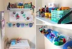 An Inspiring Kids' Activity Center  Modern Parents Messy Kids  Apartment Therapy