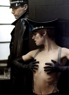 Charlotte Rampling in The Night Porter 1974