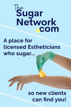 Want to make it easy for clients to find you, review you, and refer you for sugaring hair removal? Join the new Sugar Network!