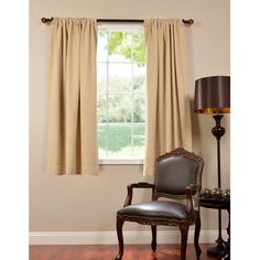 exclusive fabrics thermal blackout 63inch curtain panel pair pink polyester - 63 Inch Curtains