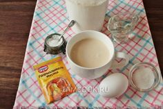 Ингредиенты для быстрого теста для пирожков без дрожжей