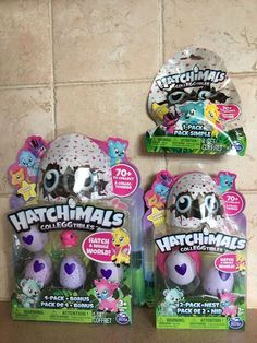 Lovely Hatchimals Colleggtibles Hatchy Matchy Game Memory Surprise Eggs Draggle Toys Toys & Hobbies Electronic & Interactive