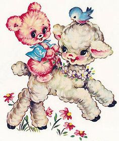 New spring/Easter images and other news! Vintage Pictures, Vintage Images, Vintage Cards, Vintage Toys, Gata Marie, Bear Nursery, Vintage Nursery, Vintage Artwork, Vintage Drawing