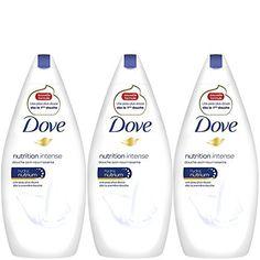 Dove gel douche nutrition intense 400ml – Lot de 3: Nouvelle formule inédite Une peau plus douce dès la première douche Contient de…