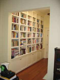 White Built In Bookcase Photo Builtinwhitecabinet.