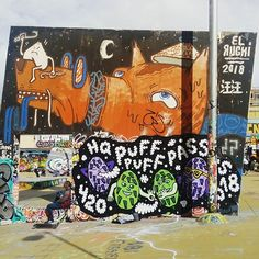 #graffiti #artecallejero #urbanphotography #streetart #streetphotography #street #barcelona #bcn #followforfollow