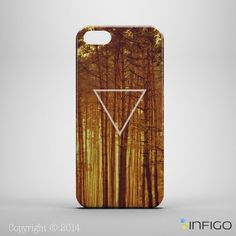 TRIANGLE FOREST iPhone 5 Case 3D Print iPhone 4 by InfigoDesign, $19.99