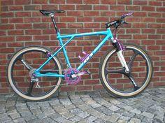 Anodized GT Zaskar LE with Spin wheels
