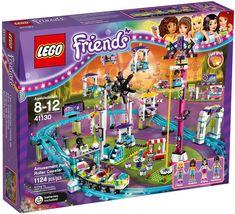 LEGO Friends Amusement Park Roller Coaster for sale online Lego Building Sets, Lego Sets, Legos, Lego Friends Sets, Lego Clones, Lego For Kids, Lego Birthday, Birthday List, Star Wars