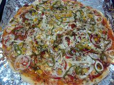 Pizza Veraniega. Recetas, Gastronomía, Food, Gastronomy, Recipes...