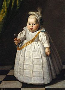 Makes me laugh! Portrait of a young boy, c1634 by Paulus Moreelse