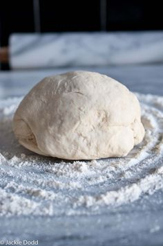 Beer Pizza Dough recipe. (This blog has a ton of recipes with beer as an ingredient.)