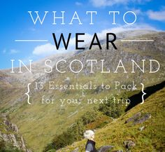 We visited the highlands of Scotland back in the fall and I still think of it almost every day.  It was the trip of a lifetime and I ...