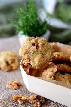 Cookies chèvre, noix et okara d'avoine   Cuisimiam