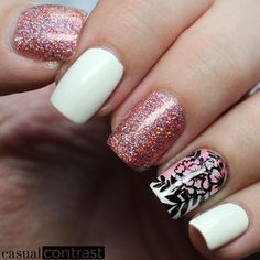 Paint All The Nails presents Watercolor • Casual Contrast