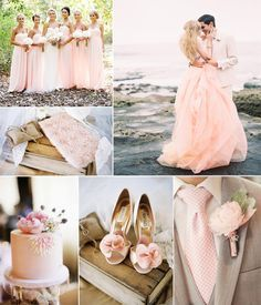 Pink can be amazing for a summer wedding