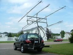 Image result for crazy ham radio antennas