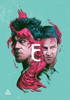 Fight Club #alternative #movie#art#poster #complex #illustration #film #creative